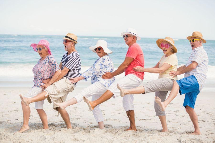 Les exercices physiques réduisent le risque de chute des séniors