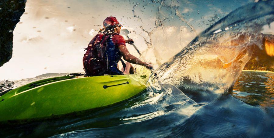Profiter de l'été pour faire du kayak de mer